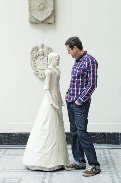 Velonaki's robotic art installation
