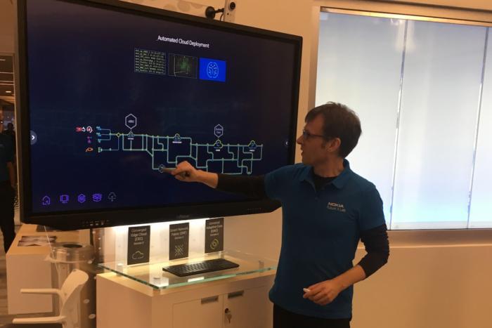 벨 랩의 연구자들은 드래그앤 드롭 인터페이스를 통해 실시간으로 네트워크 설정을 변경할 수 있다.