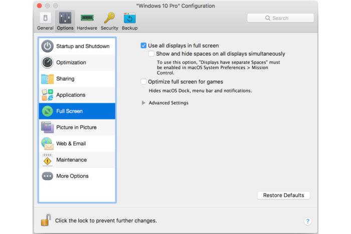 옵션 하나만 체크하면, 윈도우 10에서 맥과 같은 방식으로 여러 모니터의 장점을 활용할 수 있다.